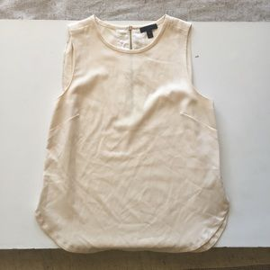 J. Crew Back-zip Shell 100% Wool Sleeveless Top 8